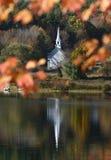 Bunter Herbst in Neu-England Stockfotografie