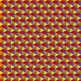 Bunter Hexagonhintergrund Lizenzfreie Stockfotos