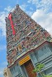 Bunter hindischer Tempel eingeweiht Lord Murugan Stockbild