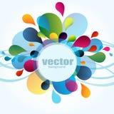 Bunter Hintergrund vektor abbildung