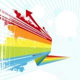 Bunter Hintergrund Lizenzfreies Stockfoto