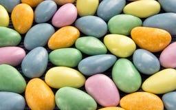 Bunter Hintergrund der Süßigkeit Stockfotografie