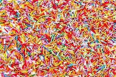 Bunter Hintergrund der Süßigkeiten Lizenzfreies Stockfoto