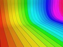 Bunter Hintergrund des abstrakten Regenbogens Stockbilder
