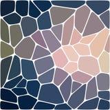 Bunter Hintergrund des abstrakten Vektormosaiks Stockfoto