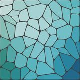 Bunter Hintergrund des abstrakten Vektormosaiks Stockbild