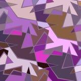 Bunter Hintergrund des abstrakten Vektors von unterbrochenen Linien Stockbild