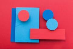 Bunter Hintergrund des materiellen Designs Lizenzfreie Stockfotos