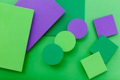 Bunter Hintergrund des materiellen Designs Lizenzfreie Stockbilder