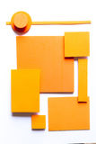 Bunter Hintergrund des materiellen Designs Stockfotografie