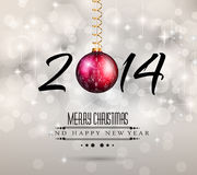 Bunter Hintergrund des neuen Jahr-2014 Lizenzfreie Stockfotos