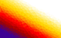 Bunter Hintergrund des Polygonsteigungs-Vektors Lizenzfreie Stockfotografie