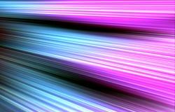 Bunter Hintergrund Farbstreifen laufen von der oberen Ecke abwärts auseinander Lizenzfreie Stockfotos