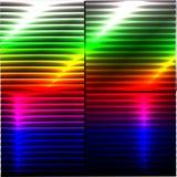 Bunter Hintergrund mit 3D Lichteffekt Stockfotografie
