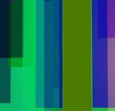 Bunter Hintergrund mit Blau und Grüns stock abbildung