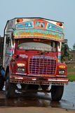 Bunter indischer LKW Lizenzfreies Stockfoto