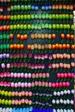 Bunter Kühlschrank-Magnet in der Tulpenform und -Design Lizenzfreie Stockfotografie