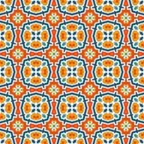 Bunter Kaleidoskopzusammenfassungshintergrund Eklektische Mosaikfliese Helles nahtloses Oberflächenmuster mit geometrischer Verzi Lizenzfreie Stockfotografie