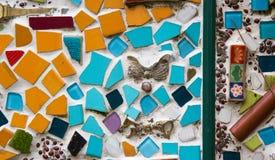 Bunter keramischer Hintergrund Lizenzfreies Stockbild