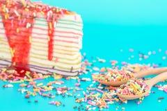 Süßigkeiten & gebäck  Süße Bunte Süßigkeiten, Die Gebäckdekorationshintergrund ...