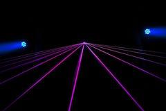 Bunter Laser-Effekt lizenzfreies stockbild