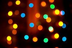 Bunter Leuchtehintergrund Stockfotos