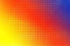 Bunter mehrfarbiger Hintergrund von polygonalen Elementen im Stil der Disco mit Hagel lizenzfreies stockbild