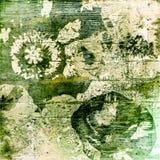 Bunter mit Blumenhintergrund der Kunst Lizenzfreie Stockbilder