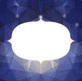 Bunter Mosaikdreieckhintergrund Lizenzfreies Stockbild