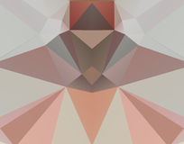 Bunter Mosaikhintergrund des Dreiecks Stockbilder