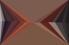 Bunter Mosaikhintergrund des Dreiecks Lizenzfreies Stockfoto