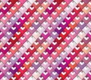 Bunter Palettenmusterhintergrund Rosa, beige und purpurrote Bleistifte lizenzfreie stockfotos