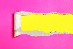 Bunter Papierhintergrund Stockfoto