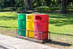 Bunter Park-Abfall Lizenzfreies Stockfoto
