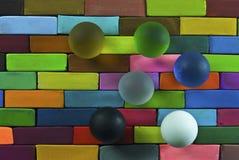 Bunter Pastellhintergrund Lizenzfreies Stockfoto