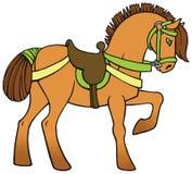 Bunter Pferdevektor Lizenzfreies Stockbild