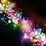 Bunter Pixel-Hintergrund Stockbild
