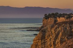 Bunter Rancho Palos Verdes Sunset lizenzfreie stockfotografie