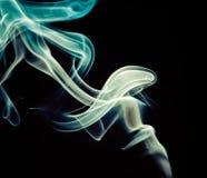 Bunter Rauchhintergrund Stockfotos