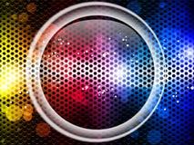Bunter Regenbogen-Neonpartei-Hintergrund vektor abbildung