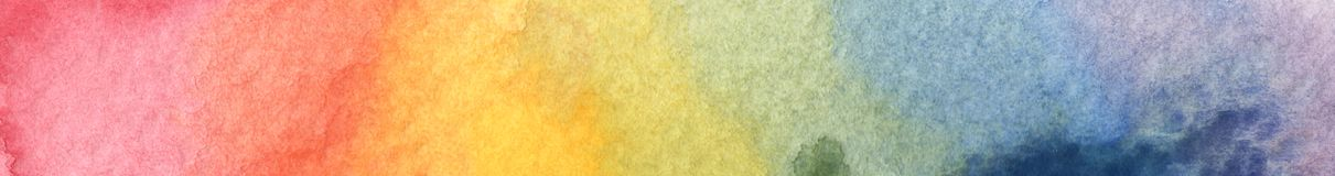 Bunter Regenbogenaquarellhintergrund - abstrakte Beschaffenheit Lizenzfreies Stockbild