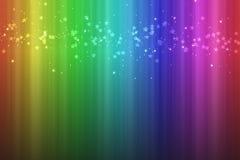 Bunter Regenbogenhintergrund mit vertikalen Streifen Stockfoto