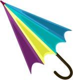 Bunter Regenschirm Stockbilder