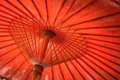 Bunter Regenschirm Lizenzfreie Stockfotos