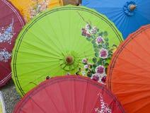 Bunter Regenschirm Lizenzfreies Stockbild