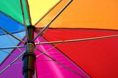 Bunter Regenschirm Stockfoto