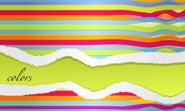Bunter Retro- Hintergrund Stock Abbildung
