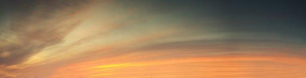 Bunter roter Himmel-Hintergrund Stockfotos