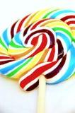 Bunter Süßigkeit-Lutscher Stockbilder
