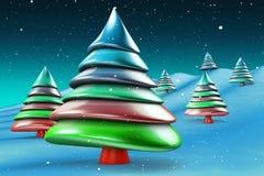 Bunter SüßigkeitWeihnachtsbaum stock abbildung